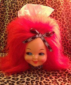 Kitsch Retro Dimple Doll Kleenex Tissue Box Cover by KutiePieKitsch on Etsy https://www.etsy.com/listing/255547573/kitsch-retro-dimple-doll-kleenex-tissue