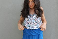 10 Ways to Style a Maxi Dress via Brit + Co.