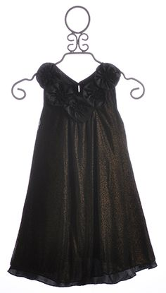 Laundry Tween Special Occasion Dress Golden Glitter $59.00