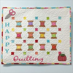 Happy Quilting quilt pattern by Stitches of Love Quilting