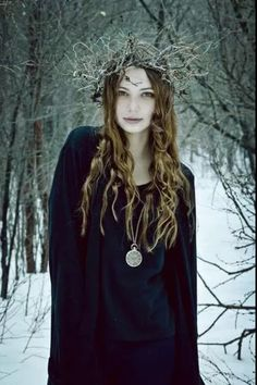 Lady of the Winter Wood