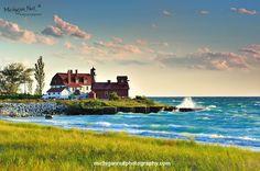 """Lighthouse Dawn"" Point Betsie Lighthouse"