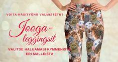 Voita käsityönä valmistetut joogaleggingsit (arvo 60€)!