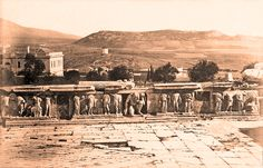 https://flic.kr/p/ssJW4V | The Athens windmill, seen from Dionysos theatre ca. 1880