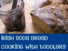 Irish Soda Bread Recipe perfect for St Patrick's Day Brunch and so simple to bake you can do it with your toddlers