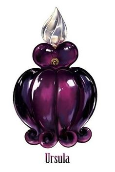 Perfume Bottles Inspired By Iconic Disney Villains by elva
