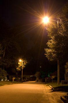 Street Lights at Night 2