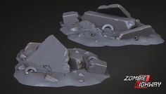ArtStation - Debris set , Sam Juarez