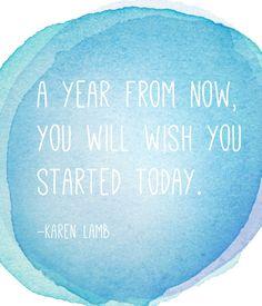 Karen Lamb quote   {motivational monday: when it's ok to quit}   The Sweet Escape