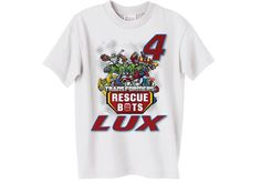 Or make freezer stencil shirt? NEW Personalized Transformers Rescue Bots by Thisshopforyou, $10.95