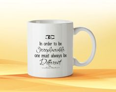 ahttp://www.bonanza.com/listings/Choco-Chanel-Quotes-Art-Covers-Cup-Custom-Woman-Gift-Birthdays-Coffee/314386035CUSTOM CERAMIC MUGS Your favorite photo or funniest saying is a great way to start the day. Use our white custom mug to showcase your creativity. It has a large handle that's easy to hold and comes in 11oz sizes. personalized logo on this plain white mug, or explore your own creativity by picking from hundreds of custom art selections and unique type styles!