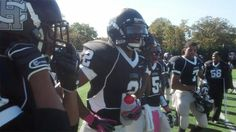 Harrisburg RB Robert Martin catches his breath after a TD vs. Central Dauphin on Saturday. - 10.13.12