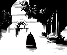 Détail de Batman - Sanctuaire (Batman Legends of the Dark Knight #54 : Sanctum) - par Mike Mignola