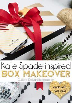 Cuckoo 4 Design: Kate Spade Inspired Box Makeover