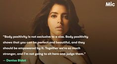 """""""It was never that the conversation should only be for curvy women. The narrative has stayed consistent that you don't need to be anything other than yourself to feel beautiful.""""  - Denise Bidot  This article on @polymic reinforces that body positivity is for everyone:   #bodypositive #selflove #allbodiesarebeautiful  https://mic.com/articles/184087/where-do-thin-people-fit-into-the-body-positive-conversation"""