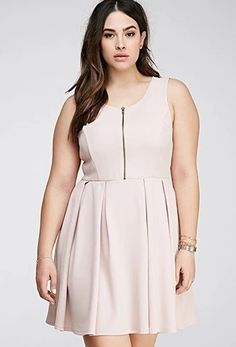 Forever21 Matelasse Fit & Flare Dress   Community Post: 23 Super-Cute Dresses You Can Rock Without Breaking The Bank
