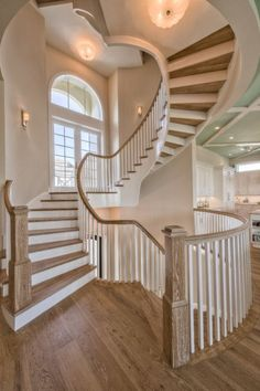 Stairs And Staircase, Staircase Design, Spiral Staircases, Dream Home Design, My Dream Home, Bonita Springs, House Of Turquoise, Luxury Interior Design, Interior Architecture
