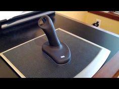 """Souris ergonomique """"Joystick"""" de 3M, sans fil. #souris #3M #ergonomique"""