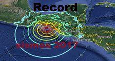 2017 Record de sismos en México.