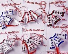Risultati immagini per Martisoare/traditionale Cute Polymer Clay, Polymer Clay Charms, International Craft, 8 Martie, Bridal Shower, Hair Accessories, Valentines, Polymers, Spring