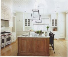 ROMA used on the floors and range hood of this home - Interior designer, Beth Webb, Architect, Harrison Design Associates, Builder Shaba Derazi.