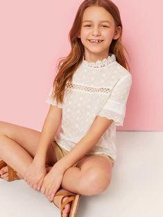 Cute Young Girl, Cute Girls, Tween Fashion, Girl Fashion, Girl Outfits, Fashion Outfits, Fashion Clothes, Fashion Trends, Girls Dresses Online