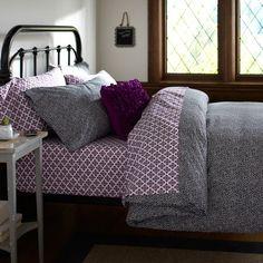 For Rachel's bed...dorm ideas