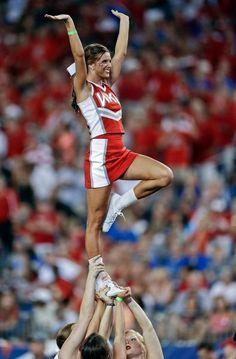 Western Kentucky cheerleading #WKU #Cheer