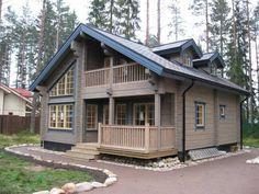 Деревянные дома из Финляндии..