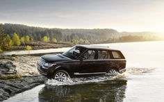 Image detail for -2013 Land Rover Range Rover Side In River Photo 53