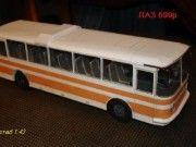 LAZ 699R Bus Free Vehicle Paper Model Download