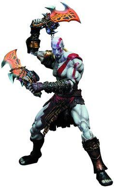 Amazon.com: Square Enix God of War III: Play Arts Kai: Kratos Action Figure: Toys & Games