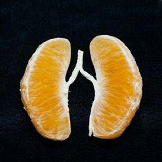 Comer mandarinos