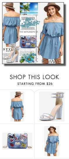 """""""//Romwe(summer style) set 3.//"""" by fahirade ❤ liked on Polyvore"""