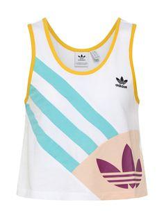 Adidas Stella McCartney Damen Tank Lila Top Tee Gr. XS S