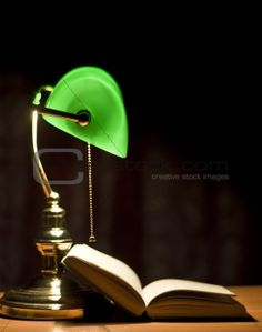 One Of Those Library Green Lamps