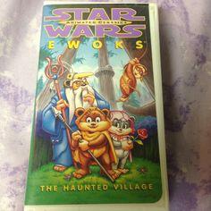 Star Wars Animated Classics - Ewoks: The Haunted Village (VHS, 1997) Hard Case