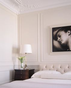 Thomas Pheasant STUDIO presents a collection of unique and limited edition objects, Home Room Design, Home Interior Design, Home Bedroom, Room Decor Bedroom, Paris Bedroom, Wainscoting Styles, Classic Interior, Luxurious Bedrooms, House Rooms