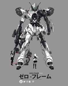 Zero frame Redesign by P-Shinobi on DeviantArt