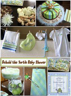 TURTLES!!!!   baby shower ideas :-)