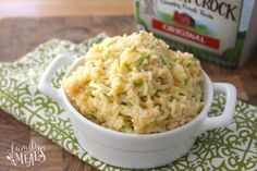 One Pot Cheesy Zucchini Rice - Enjoy!