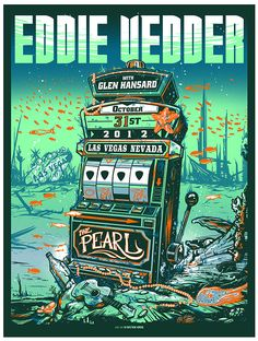 Eddie Vedder Las Vegas - Munkone