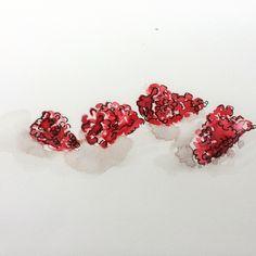 Raspberries by cindy phelan