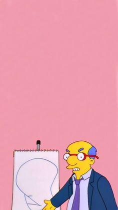 Mood Wallpaper, Pink Wallpaper, Disney Wallpaper, Cartoon Wallpaper, Simpson Wallpaper Iphone, Wallpaper Iphone Cute, Cute Wallpapers, Simpsons Tattoo, Image Fun