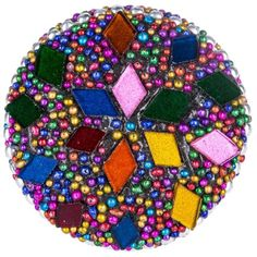 Diamond Beaded Mosaic Knob