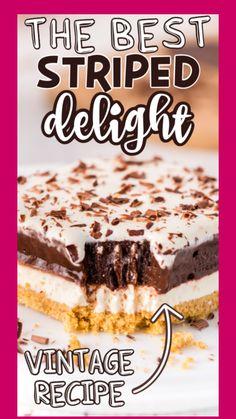 Chocolate Layer Dessert, Chocolate Pudding Desserts, Chocolate Deserts, Easy Summer Desserts, Easy No Bake Desserts, Easy Desserts, Delicious Desserts, Layered Desserts, Summer Dessert Recipes
