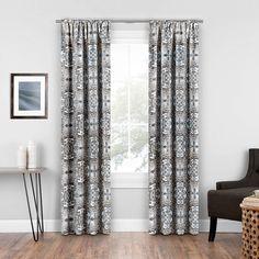 Morrow GREY 37 x 95 Thermal ECLIPSE Room Darkening Curtains