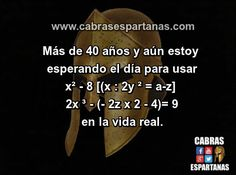 Matemáticas esas eternas incomprendidas …