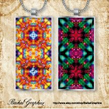Kaleidoscope multicolor mixed pattern Digital Collage Sheet domino 1x2 Inch Instant Download images for pendants Jewelry  by BaikalGraphics, $3.50
