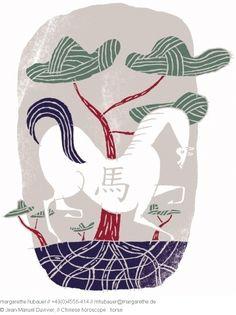 // Chinese horoscope : Horse - Jean-Manuel Duvivier